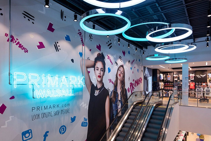 retail store design principles for primark