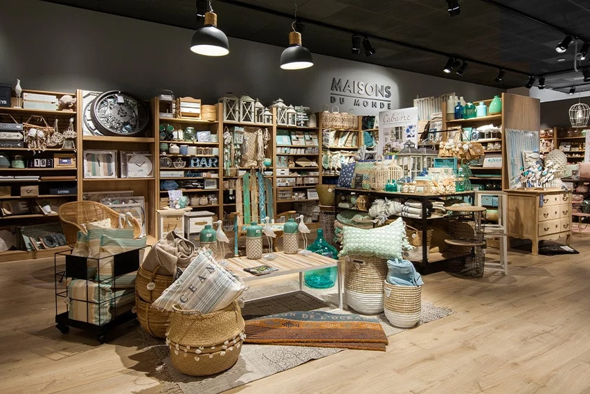 maisons du monde retail interior design