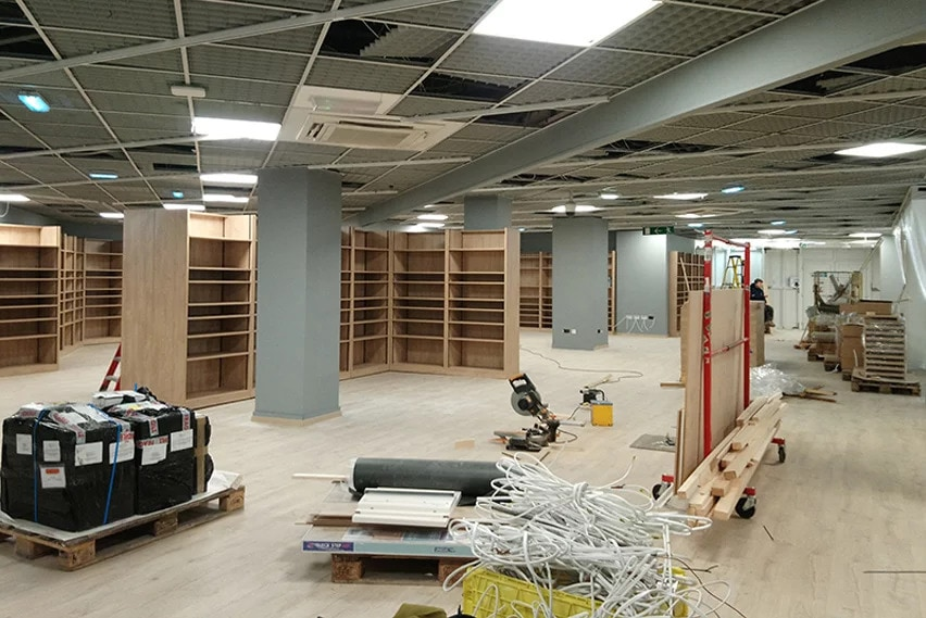 maisons du monde retail fit out