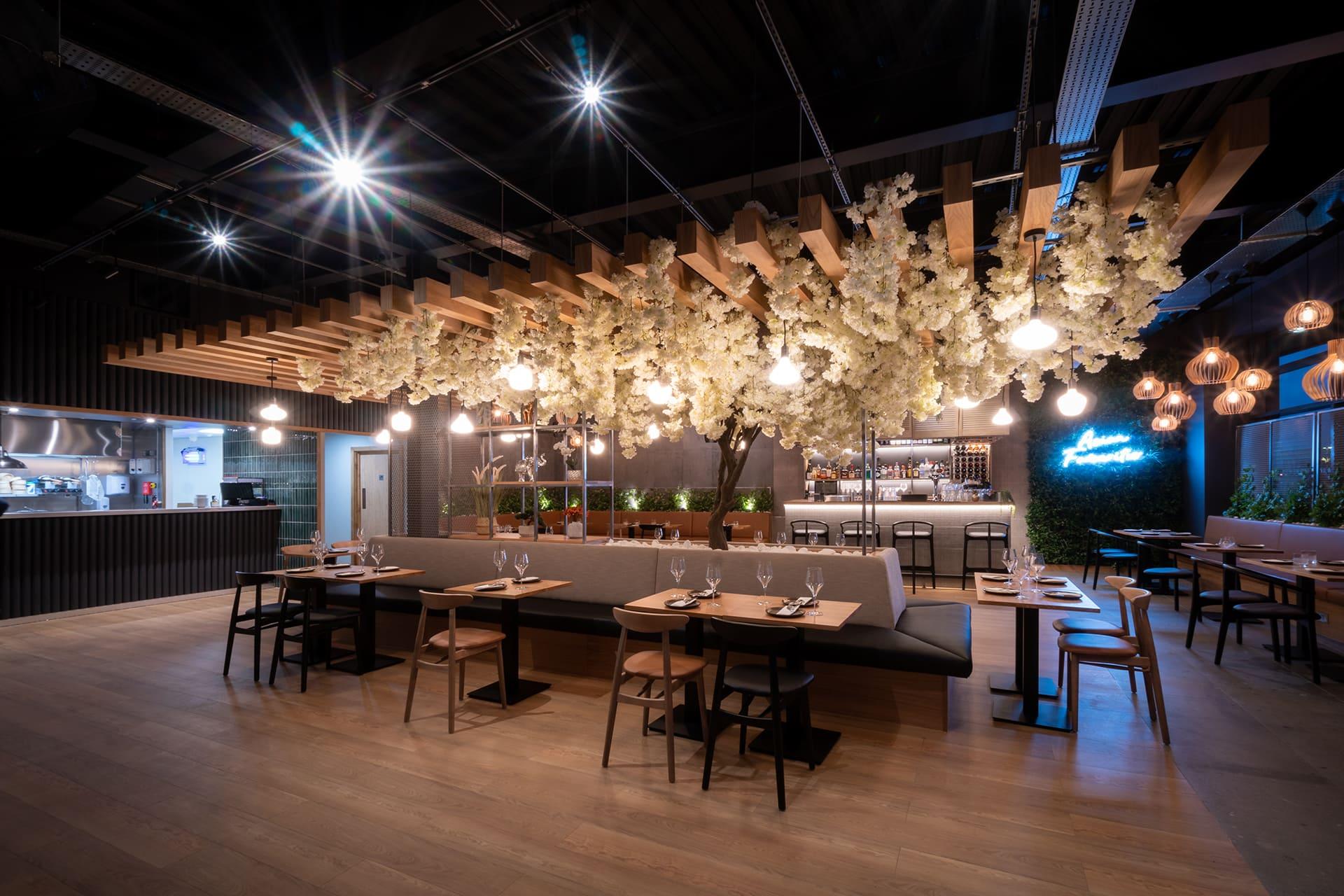 Asian Restaurant Interior Design Concept by Prosper